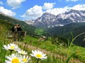 Die Gegend um Wengen - La Val im Gadertal zu Füßen des Heiligkreuzkofel ist ein Paradies für Wanderer