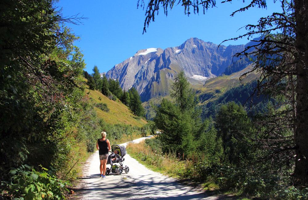 Babys erster Urlaub: Familienausflüge in Südtirol