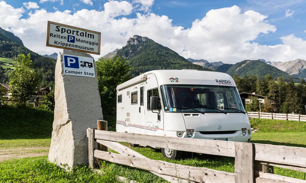 Auch Camping möglich