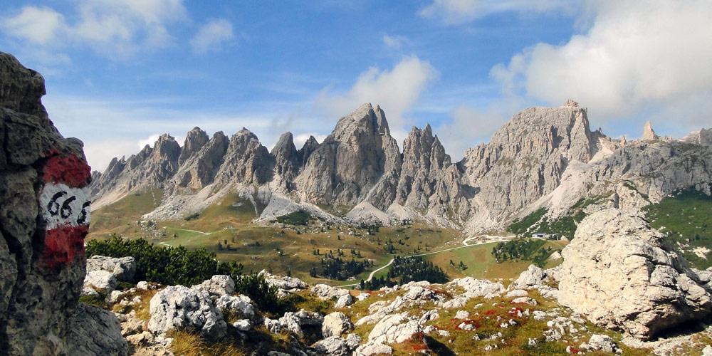 Dolomiten – Lage und Beschaffenheit