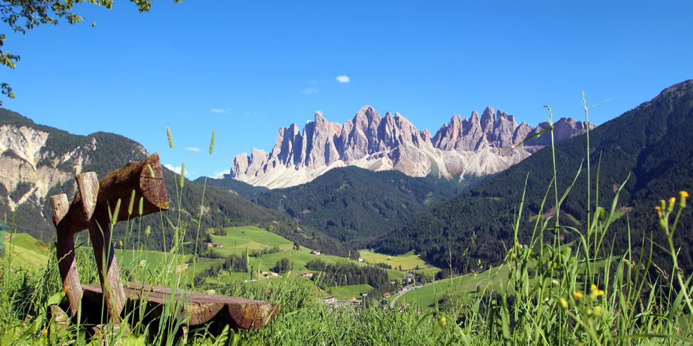 Urlaub in den Dolomiten - das Naturparadies erwartet Sie