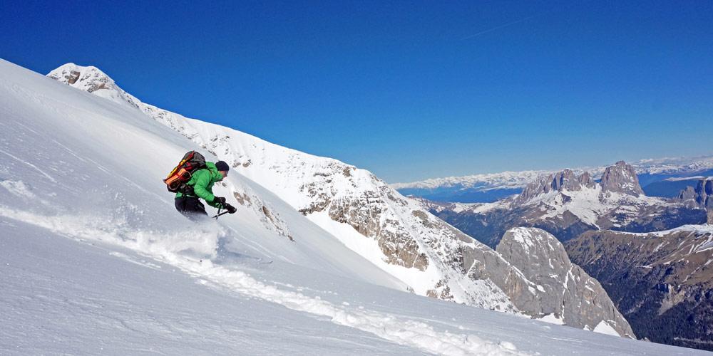 Dolomiti Superski - Wintersport im größten Skigebiet der Welt