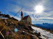 Die höchste Wahlfahrtskirche Europas am Latzfonser Kreuz im Eisacktal