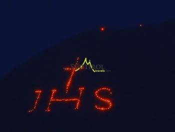 Herz Jesu Bergfeuer Radelsee Eisacktal