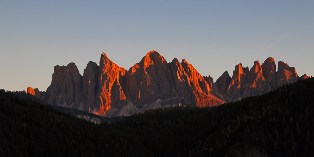 UNESCO-Weltnaturerbes Dolomiten