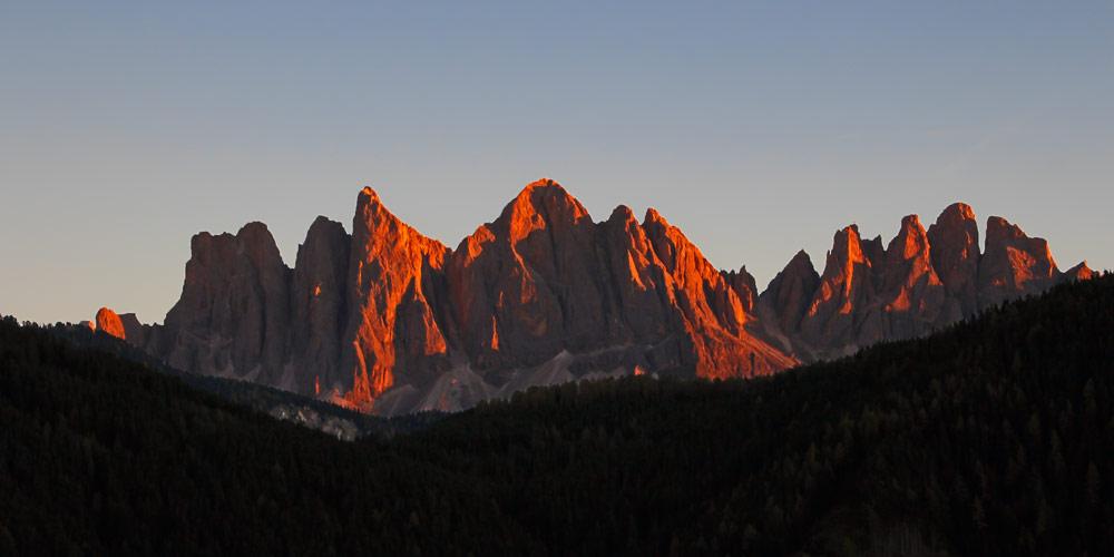 UNESCO-Weltnaturerbes Dolomiten