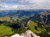 Ausblick vom Dürrenstein in die Ferienregion Hochpustertal