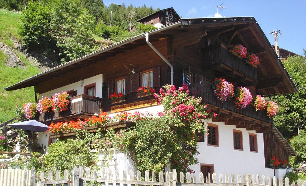 Jogglanderhof - Urlaub auf dem Bauernhof im Passeiertal