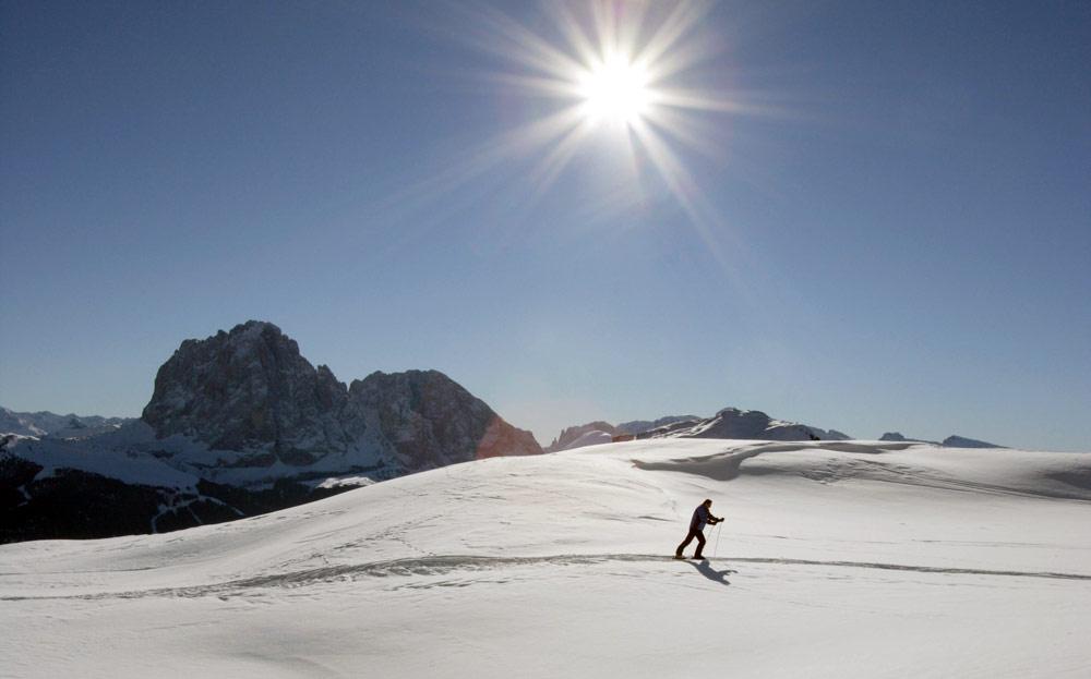 Paradies für Langläufer und Skitourengeher