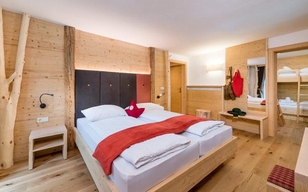 Bauernhof Pension Löchlerhof – Zimmer in Lüsen