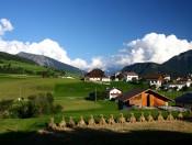 Schön gelegener Ferienbauernhof in Lajen am Eingang ins Grödnertal
