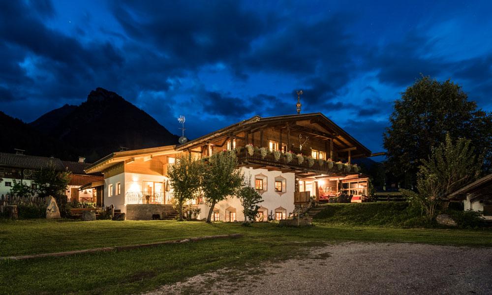 Urlaub auf dem Maurlechnhof – stilvolle Ferienwohnungen und Chalets im Ahrntal
