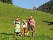 Dolomitenurlaub auf dem Bauernhof - Oberglarzhof in Villnöss