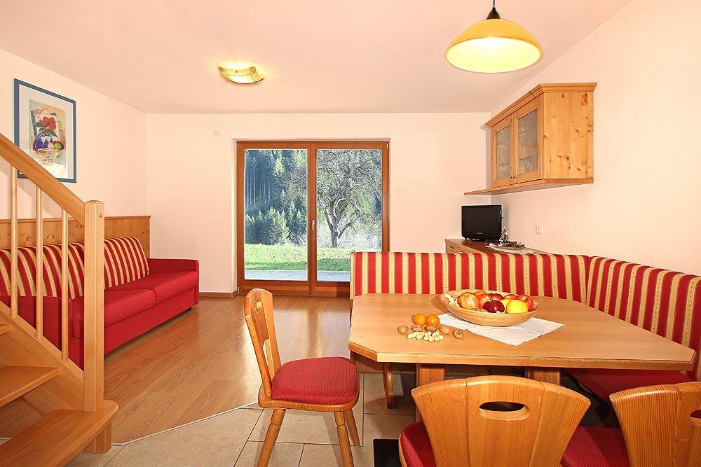 Traumhaft gelegenes Ferienhaus und Appartements: Perfila in Olang