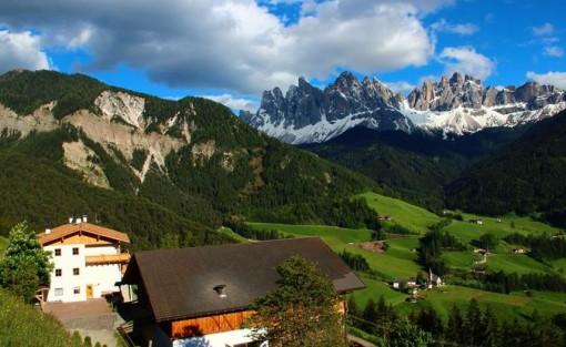 Putzerhof in Villnöss – Urlaub vor hochalpiner Traumkulisse