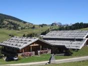 Bauernhof und Almhütte im Herzen der Dolomiten - Seiser Alm