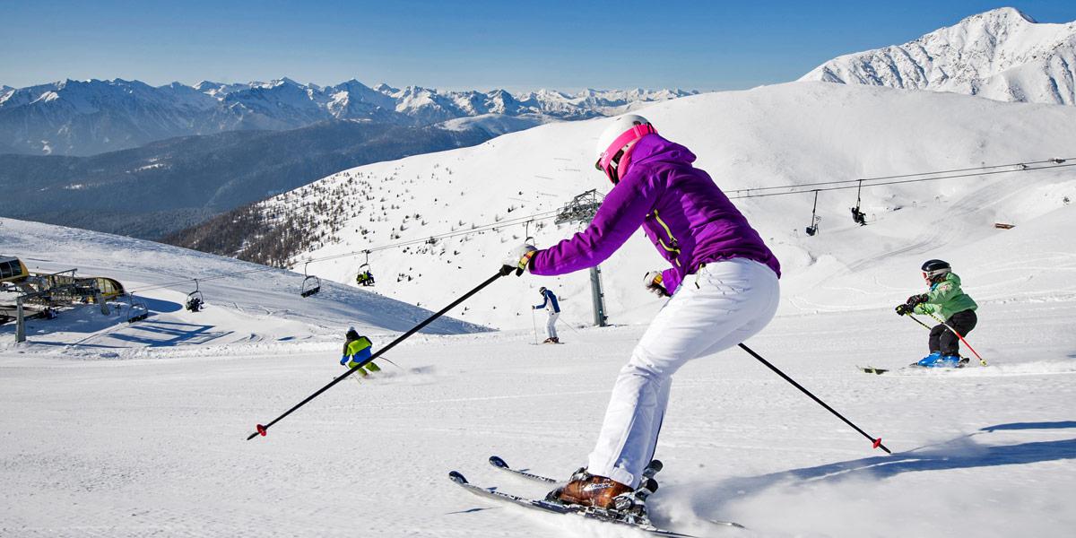 Aus zwei mach eins: Das Eisacktaler Skigebiet Gitschberg Jochtal