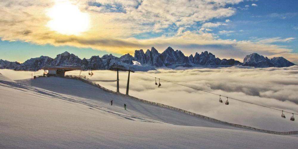 Winterurlaub im Eisacktal/ Brixen Plose