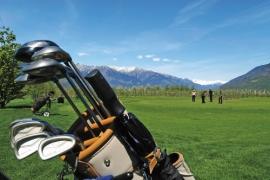 Golfplatz Golfurlaub Südtirol