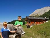 Selbstversorgerhütte Südtirol - Thaler Alm Hütte in den Dolomiten