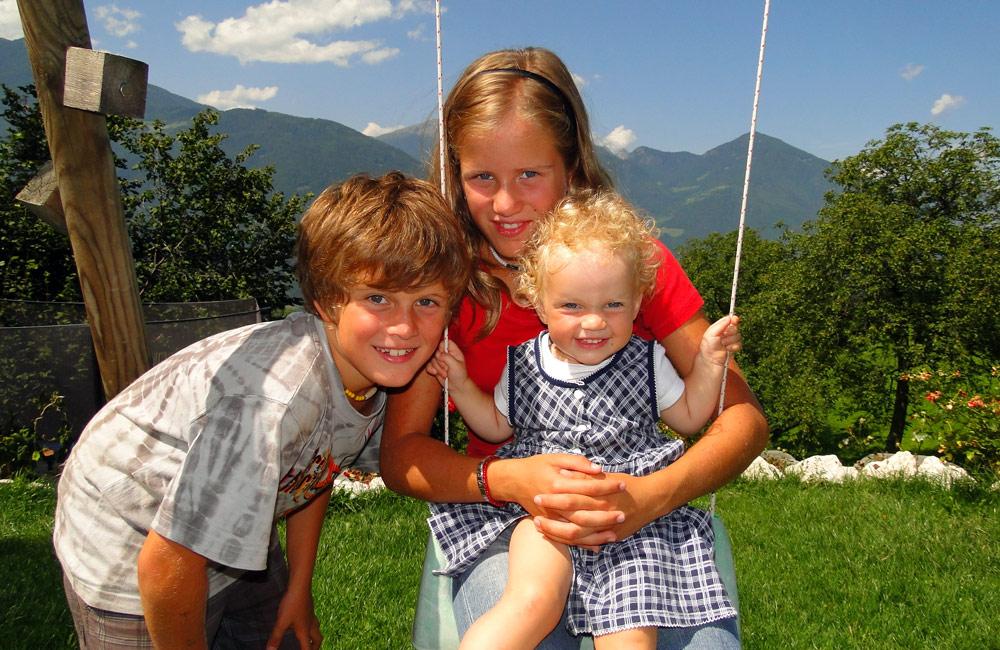 Urlaub mit Baby in Südtirol