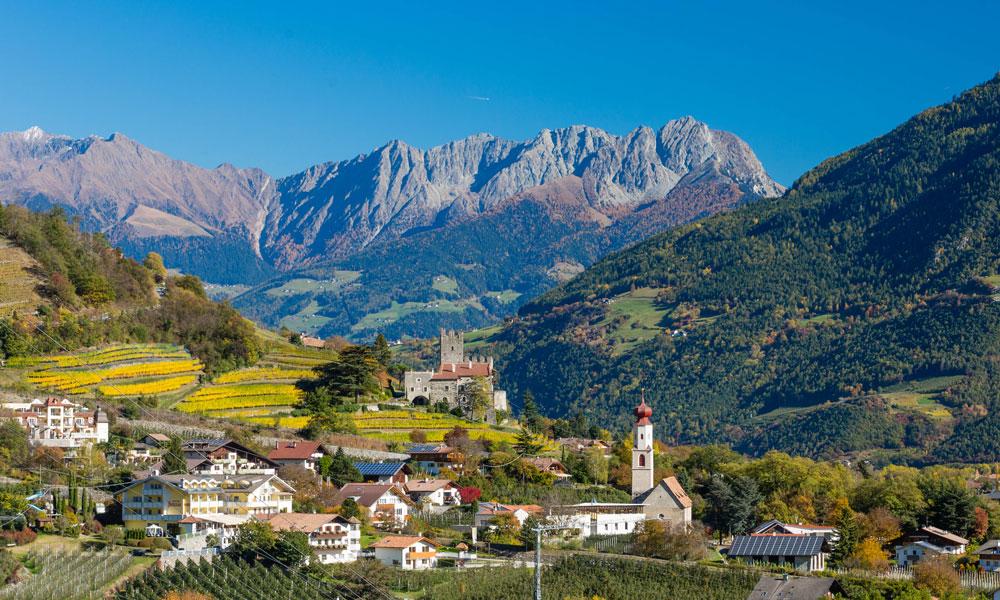 Naturns – das alpin-mediterrane Wellnessdorf bei Meran