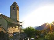 Prokulus-Kirche-Sonnenuntergang-Kultur,-TG-Naturns,-Peter-Santer