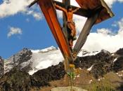 Heiliges Kreuz im Langtauferer Tal - Vinschgau mit der Weißkugel im Hintergrund