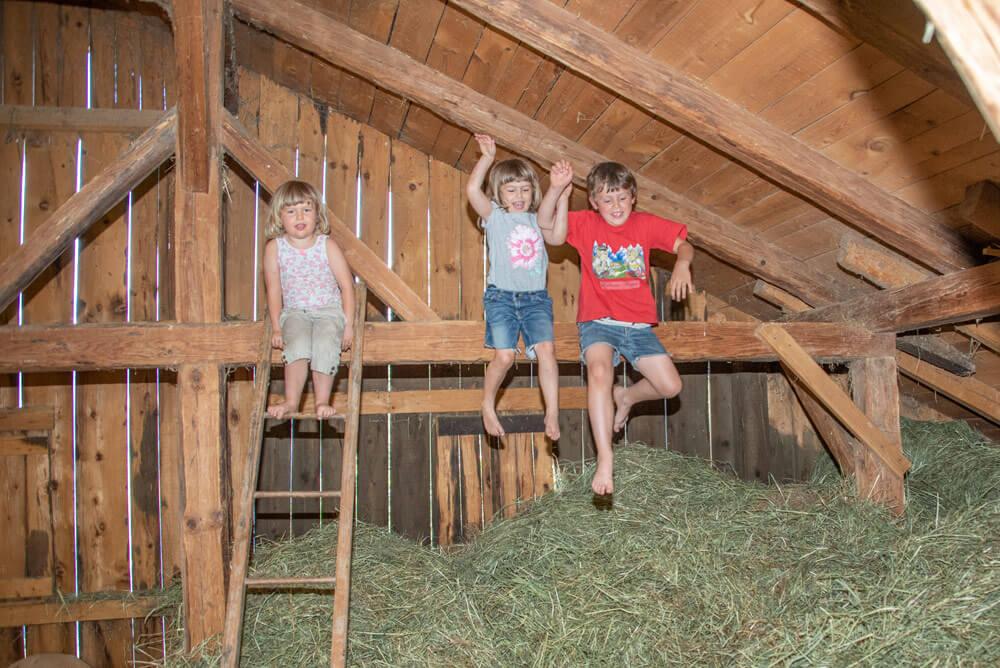 Urlaub auf dem Kinderbauernhof in Völs am Schlern – Südtirol